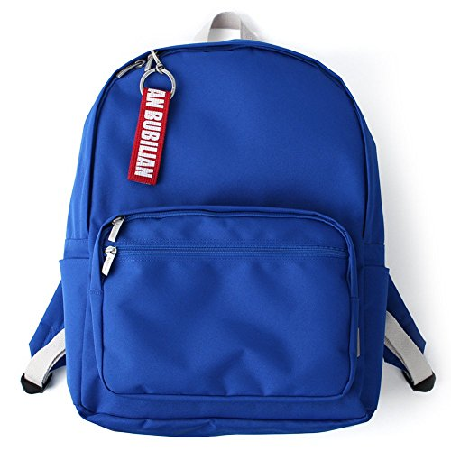 Bubilian BTBB Backpack / Korean Street Brand / School Bag / Travel Bag (Indie Blue) Blue Mejor Precio Barato Vendedor QTGgJ