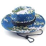 Unimango Grand chapeau à grand bord Protection UV Séchage rapide