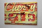 Blechschild M. A. Allen Retro US Deko Cherry Pie Apfel Obst Werbung 20x30 cm