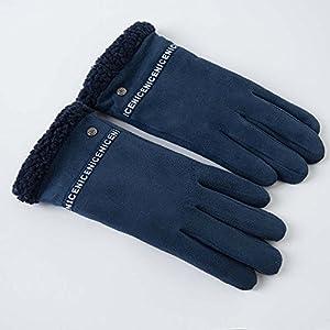 Unbekannt XIAOYAN Handschuhe Handschuh Männer Winter Dick Wind Fünf Finger Fahrt Warm halten Bequem