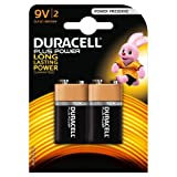 Duracell Plus Power Alkaline Batterien 9V 2er Pack