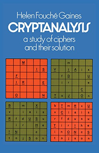 Cryptanalysis: A Study of Ciphers and Their Solution (English Edition) por Helen F. Gaines