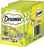 Dreamies Katzensnacks Katzenleckerli Klassiker mit Thunfisch, 6 Packungen (6 x 60 g)