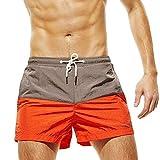 Shorts De Bain Maillots De Bain Hommes Grande Taille Slips Et Pantalon De Plage...