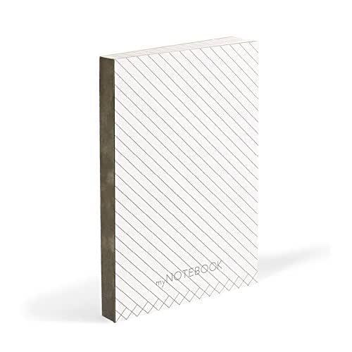Idea regalo: Agenda notes con pagine a RIGHE DIAGONALI - MY NOTEBOOK