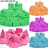 #3: TITATO Sand Clay Putty Tub with 6 Shaping Moulds Tools for Kids 100 % Safe & Non-Toxic DIY Sludge Toy for Kids Activities - Children Educational Play Castle for Birthday Party, Return Gift (500 Gram)