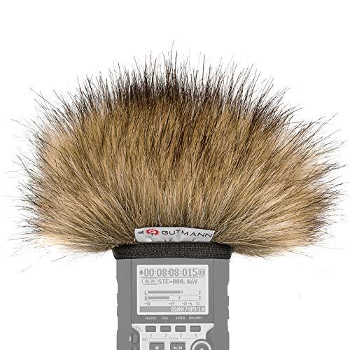 Gutmann Microfono protezione antivento pelo per Zoom H1 / H1n modello speciale limitato WOLF