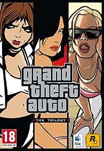 Grand Theft Auto: Triple Pack - GTA3, Vice City, San Andreas (Mac DVD)