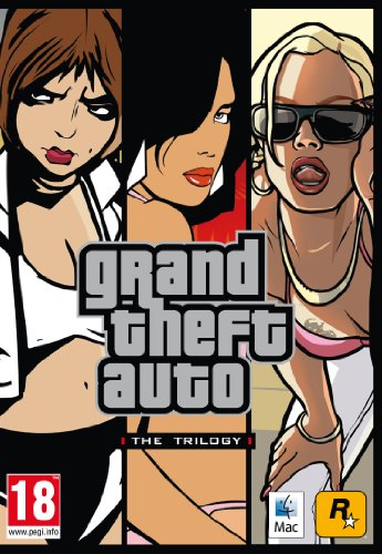 Grand Theft Auto: Triple Pack - GTA3, Vice City, San Andreas (Mac DVD) [Importación inglesa]