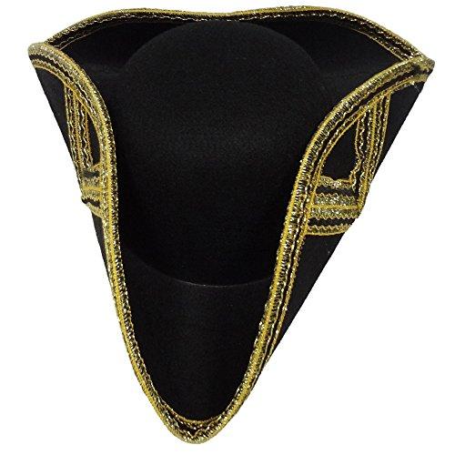 Dress Up America Cappello Tricorne Deluxe per adulto