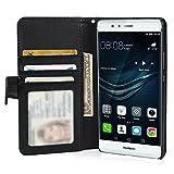 Huawei P9 Hülle Brieftasche mit Standfunktion