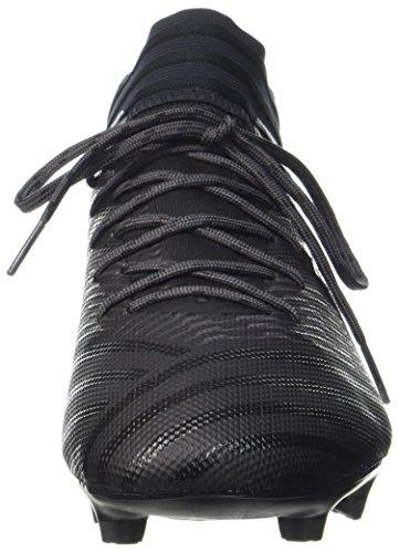 adidas Nemeziz 17.3 FG, Chaussures de Football Homme, Blanc Noir (Core Black/core Black/utility Black)