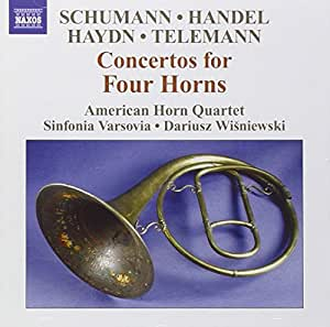 Concertos for 4 horns