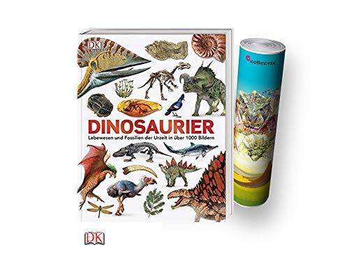 Dinosaurier: Lebewesen und Fossilien der Urzeit in über 1000 Bildern (Gebundenes Buch) + gratis Dino-Poster