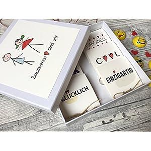 Valentinsbox 'Zusammen sind wir' gefüllt mit Smiley's von Lindt