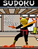Famous Frog Sudoku 1,000 Hard Puzzles With Solutions: A Hard Series Book: Volume 6 (Famous Frog Hard Series)