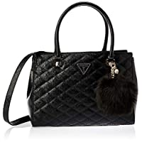 GUESS Women's Satchel Handbag, Black - SG747909
