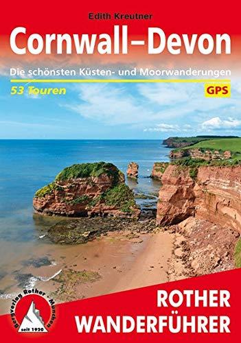 Cornwall - Devon: Die schönsten Küsten- und Moorwanderungen. 53 Touren. Mit GPS-Daten (Rother Wanderführer)