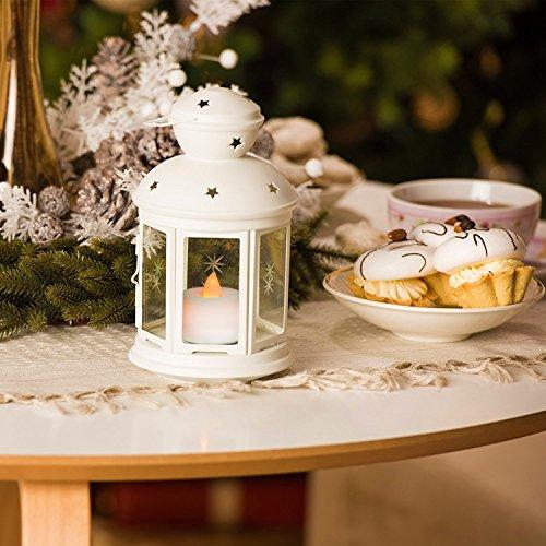 Velas sin llama LED Velas de té LeeHur Flameless LED Tea Lights Velas, Falsas Velas eléctricas con LED Sin llama con bateria para Navidad, Fiesta, San Valentín, Boda, Cumpleaños, Semana Santa