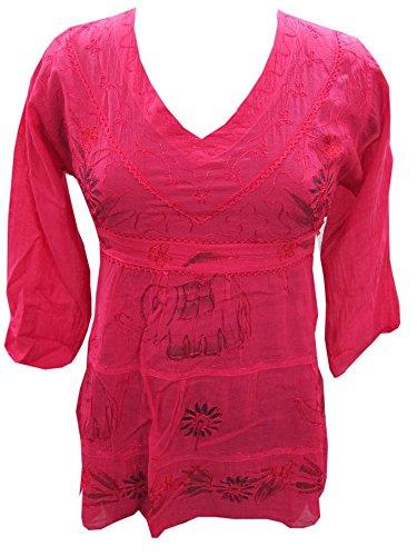 Mogul Interior - Haut de pyjama - Femme Rose - Rose foncé