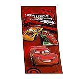 Herding 612928516 Velourshandtuch Disney's Cars, 75 x 150 cm, 100 % Baumwolle, bedruckt