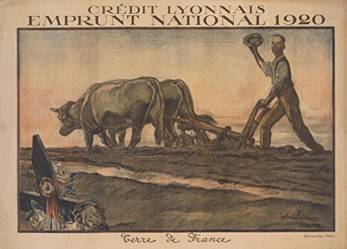 vintage-french-ww1-1914-18-propaganda-credit-lyonnais-for-the-1920-national-loan-french-soil-250gsm-