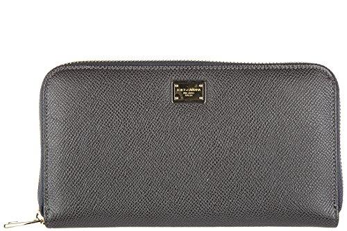 Dolce&Gabbana Damen Geldbörse Portemonnaie Bifold Geldbeutel zip around dauphine (& Gabbana Dolce Damen-geldbörsen)