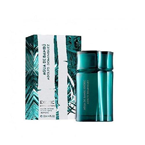 Adolfo Dominguez Agua de Bambu Exotic Perfume para Hombre - 120 ml