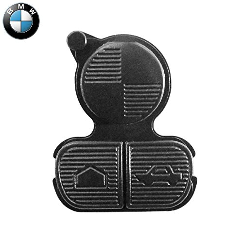 Gommino 3 Tasti Ricambio Telecomando Guscio Chiave Nero BMW Serie 1 3 5 7 X1 X3 X5 Z3 Z4 M3 M5 E38 E39 E46 E53 E83 CHIAVIT Ricambi Scocca Chiavi Auto Logo Cover Membrana
