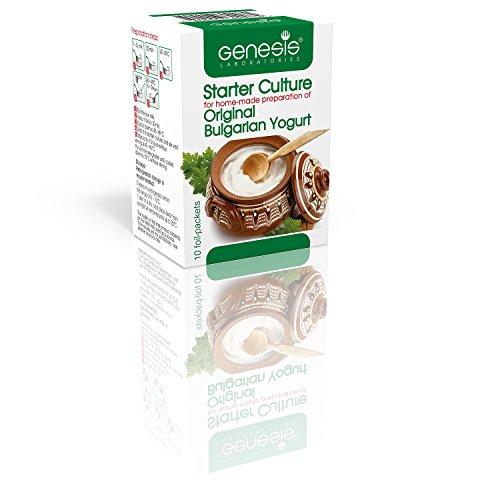 Bulgarian Starter Kultur für Traditionelen Joghurt - natürlichen - bis zum 50 Liter (Joghurt Starter)