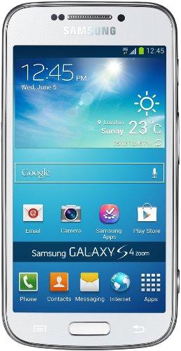 Samsung Galaxy S4 zoom - Smartphone (10,9 cm (4,27 Zoll) Super-AMOLED-Touchscreen, 8 GB interner Speicher, 16 Megapixel Kamera, 10fach optischer Zoom, Android 4.2), weiß