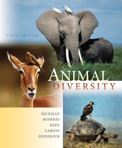 Animal Diversity by Jr., Cleveland Hickman (2008-10-01)