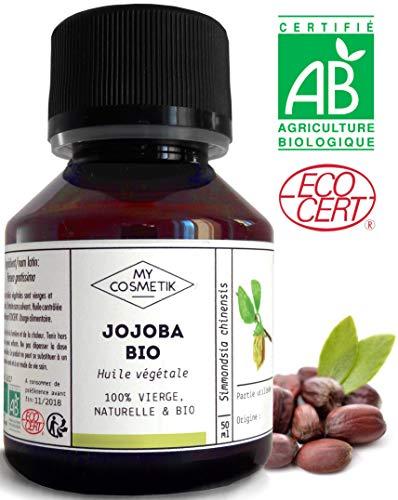 Pflanzenöl von Jojoba BIO - MyCosmetik - 50 ml