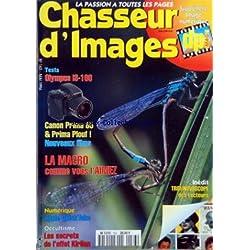 CHASSEUR D'IMAGES [No 163] du 01/05/1994 - OLYMPUS IS-100 - CANON PRIMA 85 ET PRIMA PLOUF - LA MACRO - APPLE QUICK-TAKE - LES SECRETS DE L'EFFET KIRLIAN - TROMBINOSCOPE DES LECTEURS