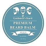 Balsamo da barba Premium al Bay Rum The Gentlemen's Beard - 60 ml - Addomestica la tua barba senza residui di unto - Donale un aspetto più folto - Bay Rum