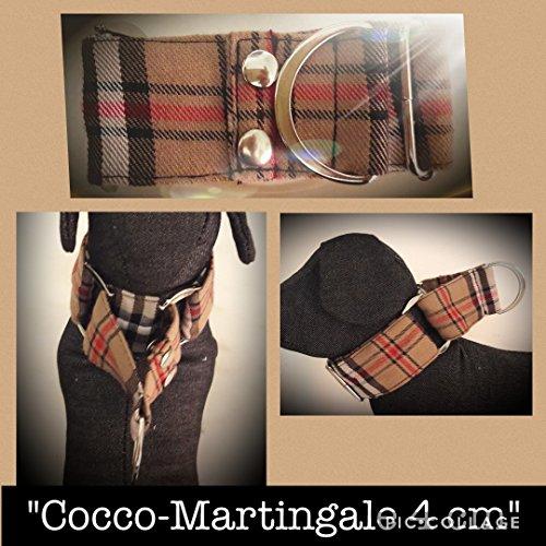 Martingale Collare per Whippet 4 Cm 30/40 Cm