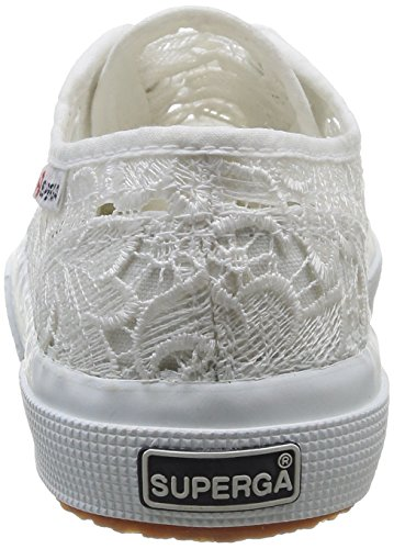 Superga 2750 Macramew, Chaussons Sneaker Adulte Mixte Blanc (White)