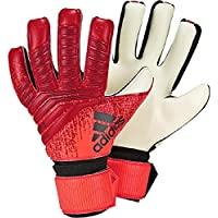 free shipping 4675b a13d5 Adidas PRED League Soccer Gloves, Unisex Adulto, Active BlackSolar Red, 10