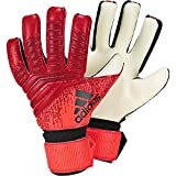 adidas PRED League Gants de Foot Mixte Adulte, Active Black/Solar Red, FR : M (Taille Fabricant : 7)