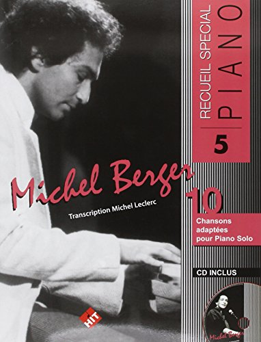 Michel Berger Piano N.5+CD par Hit
