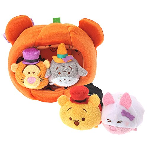 en Pooh & Friends Minitsumu & Pumpkin House set TSUM TSUM Japan Import ()