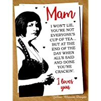 MOTHERS DAY Birthday Card Nessa I Loves You Gavin & Stacey Mam Step Mum Cute Fun You