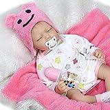 CYdoll 55cm Simulation Baby Nette Realistische Reborn Babypuppen Mädchen Real Touch Dummy...
