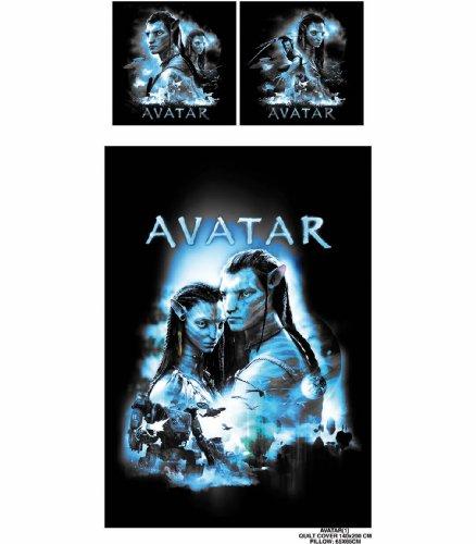 Preisvergleich Produktbild Avatar Bettwäsche Neytiri & Jake Sully 135 x 200 cm