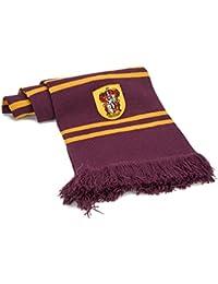 Harry Potter - Bufanda, ultra soft de 190 cm, con bolsa con cremallera (Cinereplicas Gryffindor Purple)