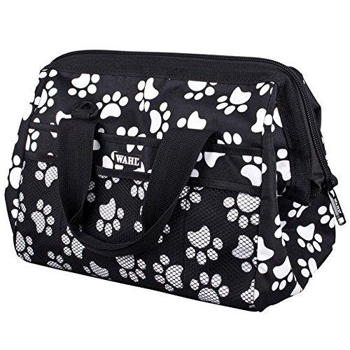 Wahl Fellpflege Reisetasche, weiß Paw Print Muster (Wahl Dog Grooming)