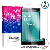 Ycloud [3 Pack] Bildschirmschutzfolie für Doogee Y300, Staubdichter, kratzfester Bildschirmschutz für Doogee Y300