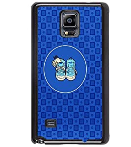 PRINTVISA Abstarct Cute Shoes Case Cover for Samsung Galaxy Note 4