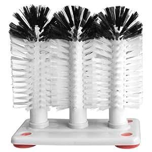 3 brosse lave verres 3 way verre brosses de lavage cuisine maison. Black Bedroom Furniture Sets. Home Design Ideas