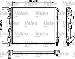 Valeo 732720 Radiateur, refroidissement du moteur